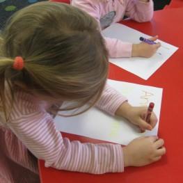 preschool-emergent-writing